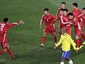 Жителям КНДР сообщили, что их сборная доминировала в матче с Бразилией