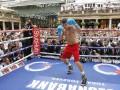 Головкин - Брук: Фото и видео с открытой тренировки боксеров