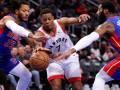 НБА: Детройт Михайлюка проиграл Торонто, Портленд разобрался с Голден Стэйт