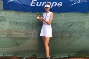 Украинка Лазаренко выиграла юниорский турнир в Анталье