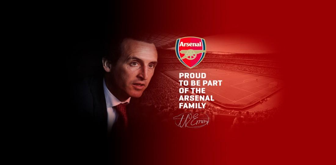 На сайте Унаи Эмери объявили о назначении в Арсенал