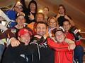 Виталия Кличко навестили австрийские прыгуны с трамплина
