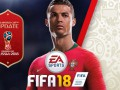 Крутой тизер апдейта FIFA 18, в котором Роналду стирает форму и выезжает на ЧМ