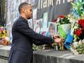 Делегация Легии перед матчем с Металлистом почтила память погибших на Майдане (фото)