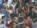 Полузащитник Ромы после гола побежал обнять свою бабушку