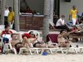 Разгрузочный день. Сборная Испании провела свой выходной на пляже