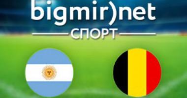 Аргентина – Бельгия - 1:0 видео голов матча 1/4 финала