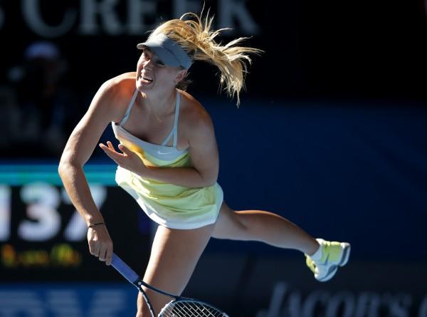 Мария Шарапова легко вышла в полуфинал Открытого чемпионата Австралии