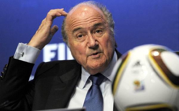 Президент FIFA Йозеф Блаттер