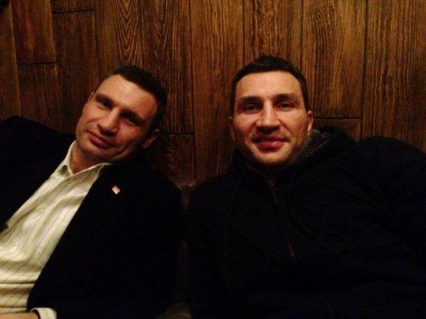 Братья Кличко встретились в Австрии