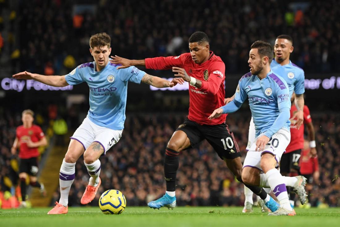 Манчестер Сити - Манчестер Юнайтед: видео голов