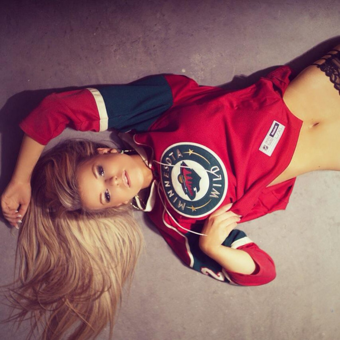 Американская модель Алиса Нельсон