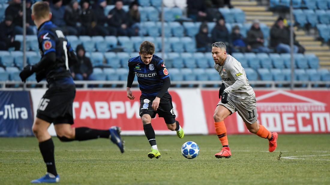 Черноморец - Шахтер: обзор матча