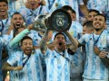 Cборная Аргентины завоевала трофей Копа Америки, обыграв Бразилию в финале