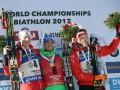 Симон Шемпп победил в масс-старте на чемпионате мира по биатлону