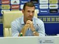 Шевченко объявил состав сборной Украины на матч с Исландией