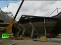 Падение дома Твенте: В Голландии рухнула крыша стадиона De Grolsch Veste