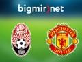Заря - МЮ 0:2 Трансляция матча Лиги Европы