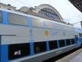 На ЮЖД начались испытания двухэтажного поезда Skoda