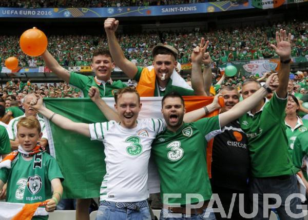 Фанаты из Ирландии - крутые