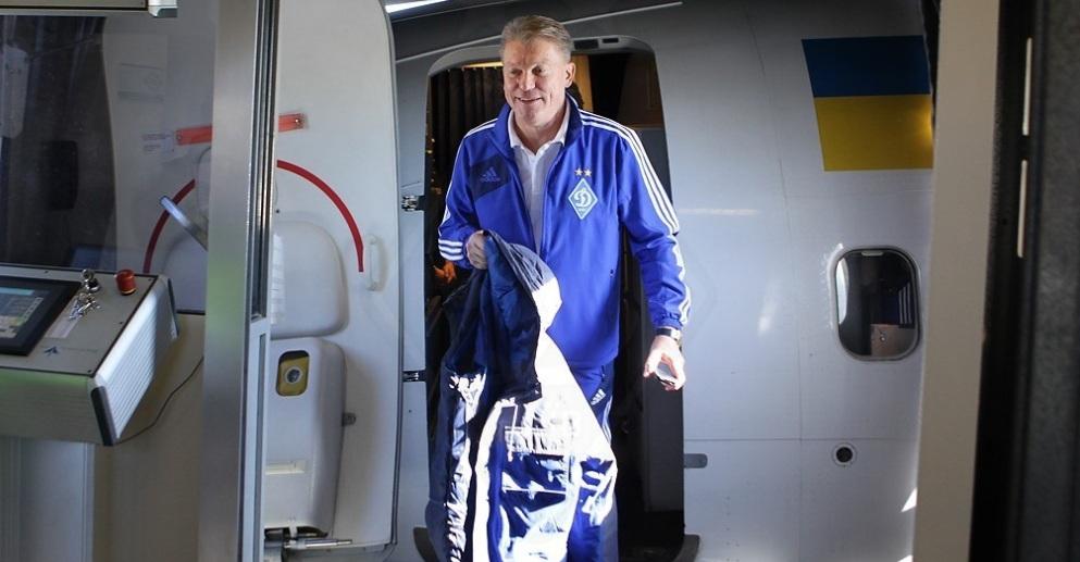 Олег Блохин наконец-то летает с командой