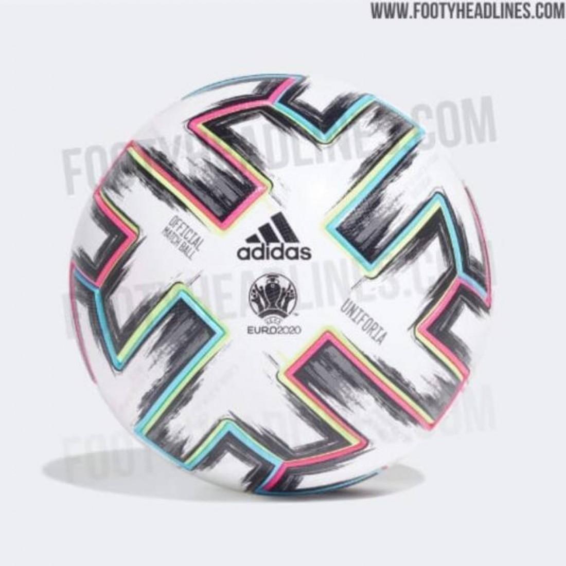 Дизайн официального мяча финальной части Евро-2020