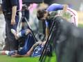 Форвард сборной Аргентины сломал локоть из-за рекламного щита