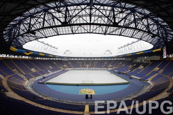 Харьковский стадион примет матч сборной Украины
