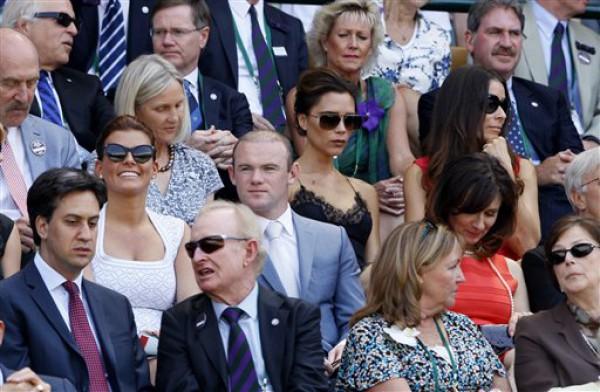 Уэйн Руни с женой побывал на теннисе