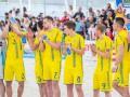 Сборная Украины по пляжному футболу уступила испанцам в отборе Евролиги