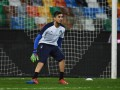 Голкипер сборной Италии получил травму, наступив на бутылку во время тренировки