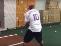 Неймар сыграл в бейсбол за нью-йоркскую команду Метс