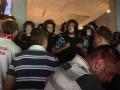 МВД: Болельщики Спартака начали бросать бутылки