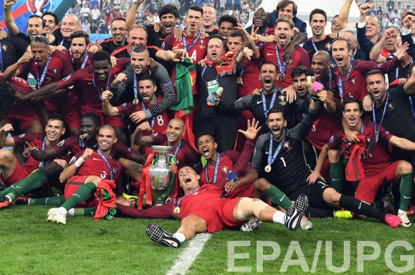 Сборная Португалии удивила многих на Евро