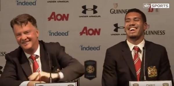 Луи ван Гал рассмешил всех на пресс-конференции