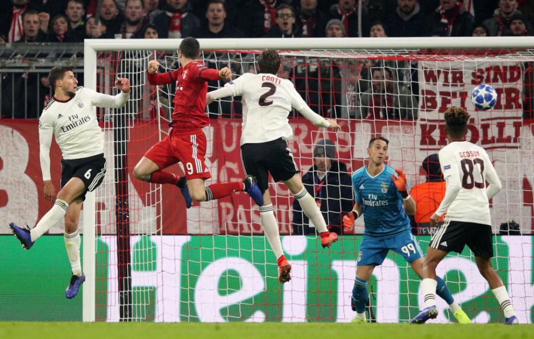 Бавария - Бенфика: видео голов и обзор матча