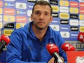 Шевченко: Молодые игроки должны быть готовы к уровню сборной Украины