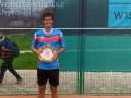 Ваншельбойм стал чемпионом турнира ITF в Шымкенте