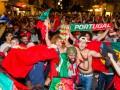 Безумное веселье: Как португальские болельщики праздновали победу на Евро-2016