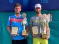Ваншельбойм стал чемпионом парного турнира ITF в Индии