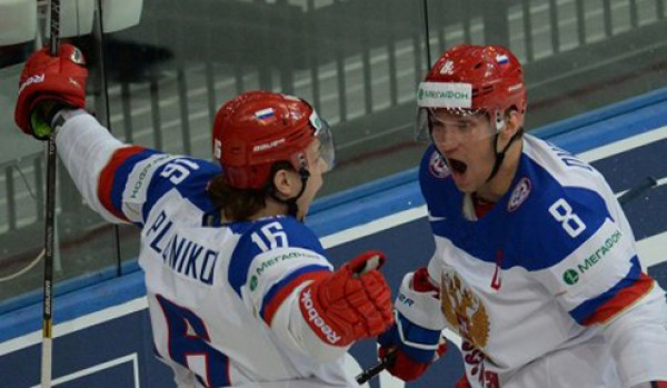 Россия громит Швейцарию в стартовом матче ЧМ-2014