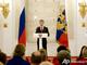 Медведев произносит напутственную речь