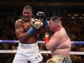 Джошуа - Руис: британец проигрывал на судейских карточках на момент остановки боя