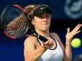 Свитолина вышла в полуфинал турнира в Дубае