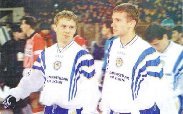 Андрей Шевченко и Сергей Ребров