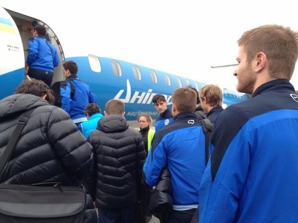 Футболисты Днепра так и не сумели добраться до Одессы