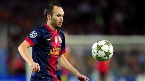 Иньеста продлил контракт с Барселоной на 5 лет