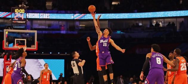 Сборная Мира с Михайлюком уступила США в Матче восходящих звезд НБА