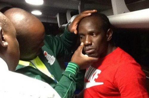 Один из травмированных игроков сборной Замбии