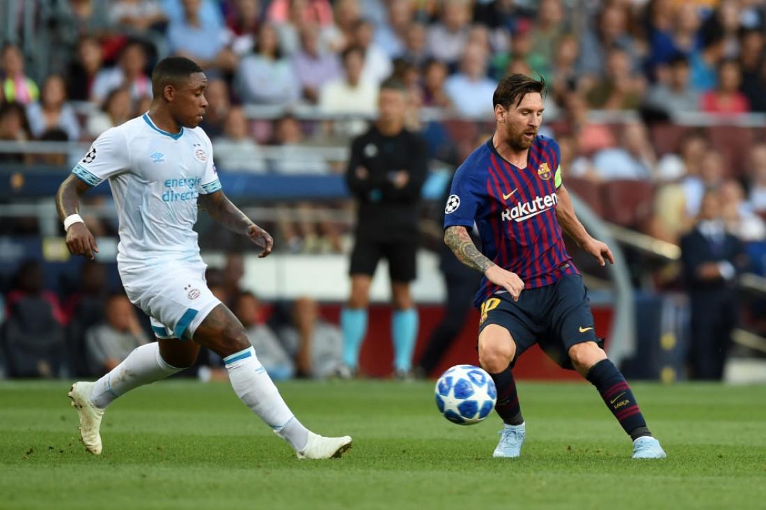 Видео голов матча Барселона - ПСВ